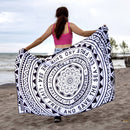 Eco-Friendly Live Free Save Sea Mandala Towel