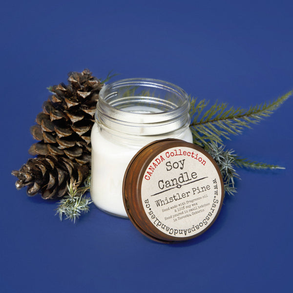 Whistler pine candle - small