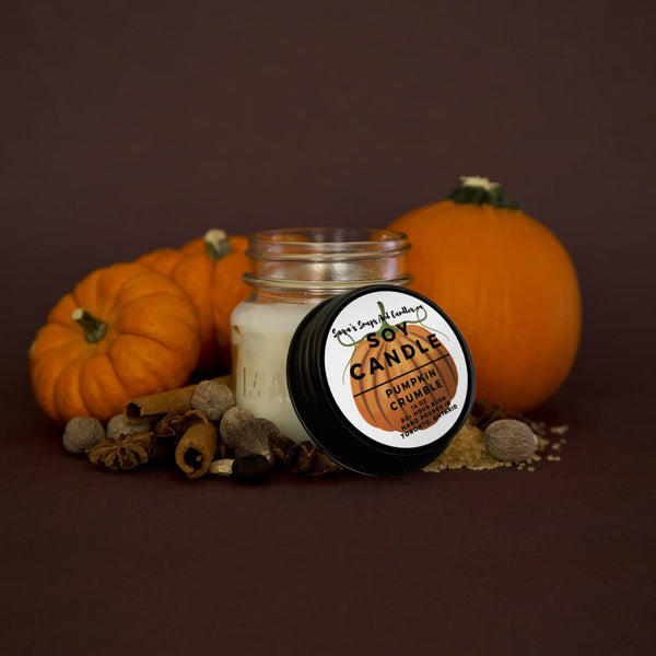 Pumpkin Crumble Candle - 7.5oz (Small)