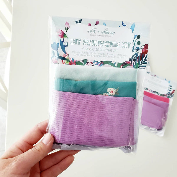 DIY SCRUNCHIE KIT- CLASSIC