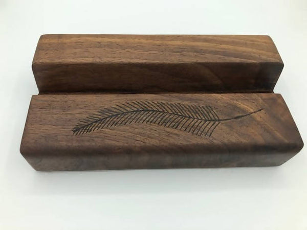 Live Edge Ipad Holders