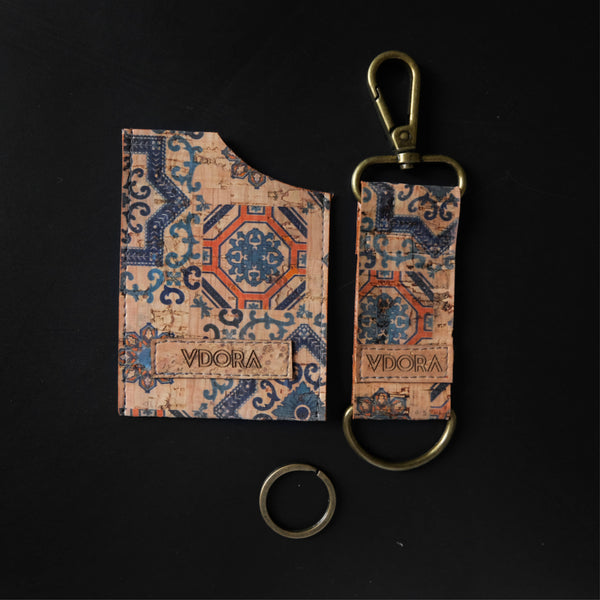 Lisboa Key & Card Holder Set