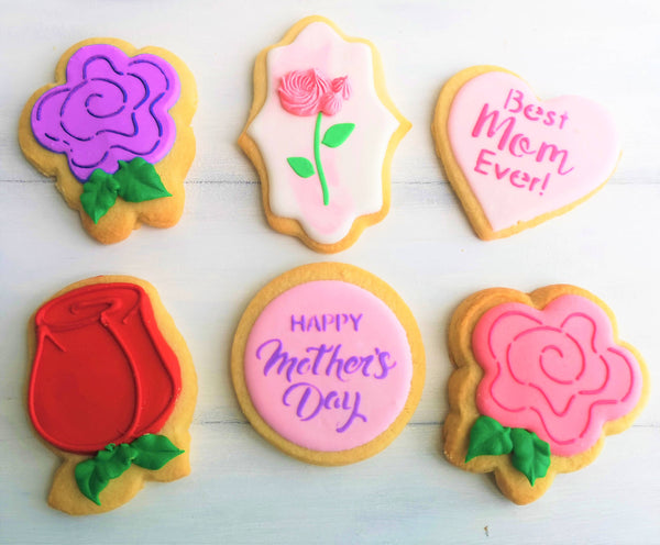 "3"" Shortbread Mother's Day designs Assorted"