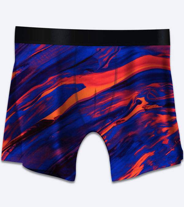 Color Swirls Boxer Briefs Underwear