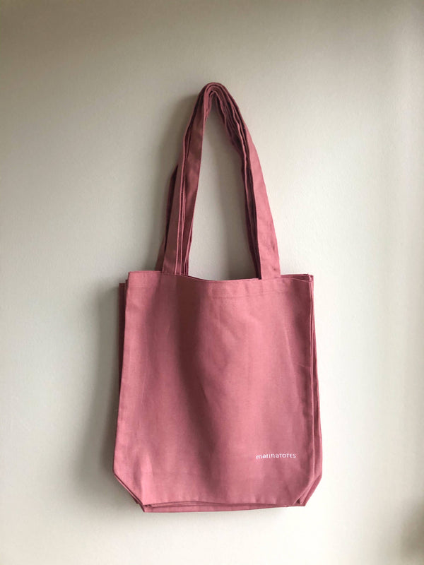 essential tote - dusty rose