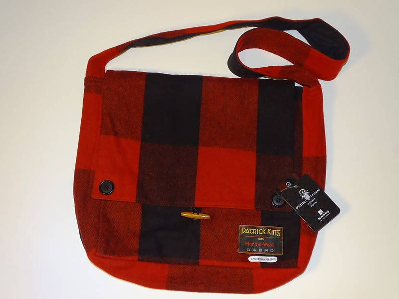 Rob Roy MacGregor Tartan Wool Messenger Bag