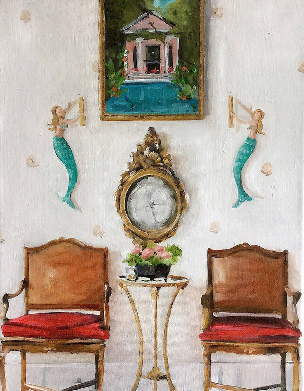 The Mermaid Lounge - Fine Art Print