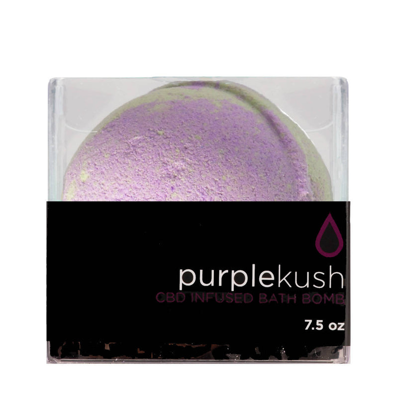Purple Kush Infused Bath Bomb 7.5 oz
