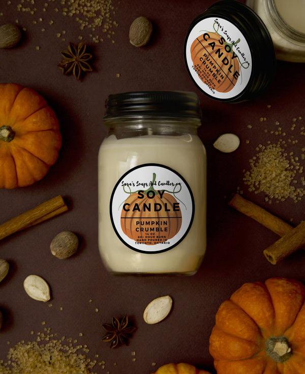 Pumpkin Crumble Candle - 14oz (Large)
