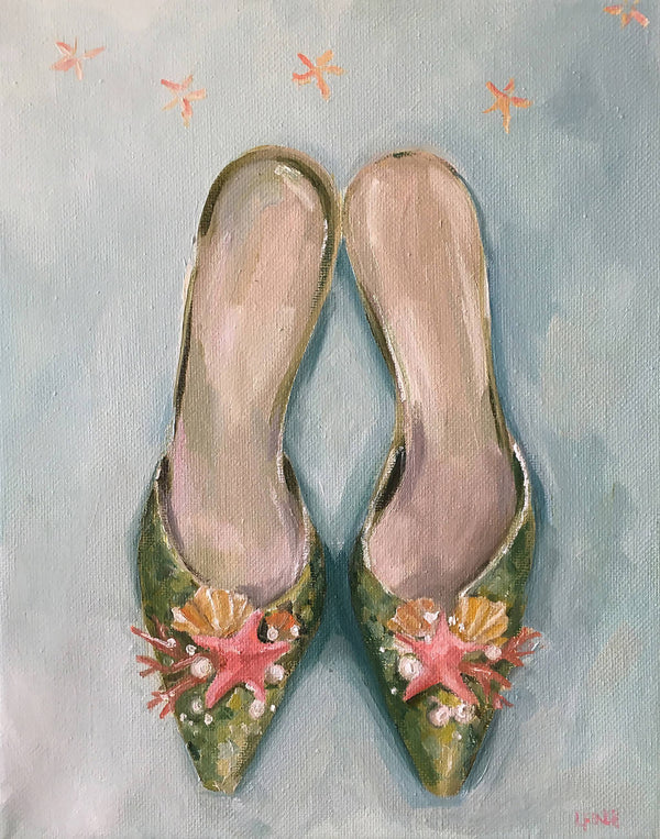 The Mermaid's Slippers - Fine Art Print