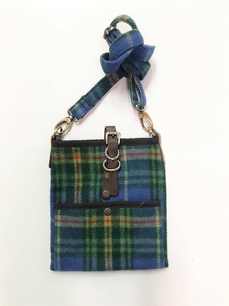 Nova Scotia Tartan Islay Tartan Cross Body Bag
