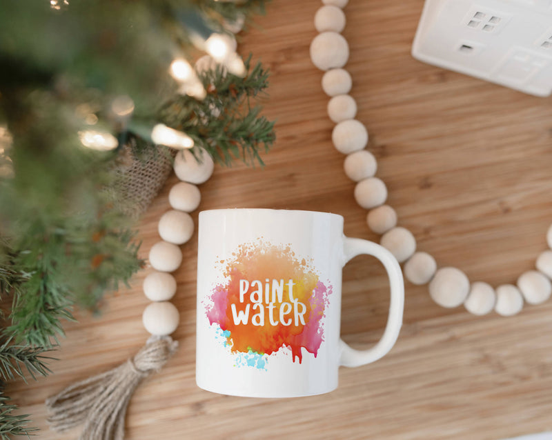 Paint Water 11oz Mug