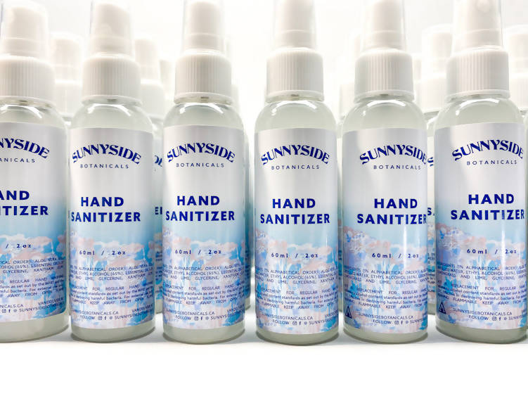 HAND SANITIZER - INCLUDED WITH EVERY SUNNYSIDE ORDER!