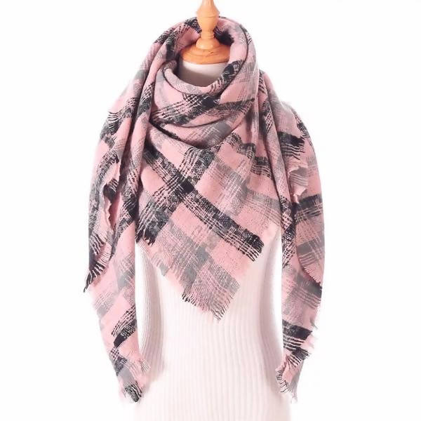 BLANKET SCARF - BLOSSOM