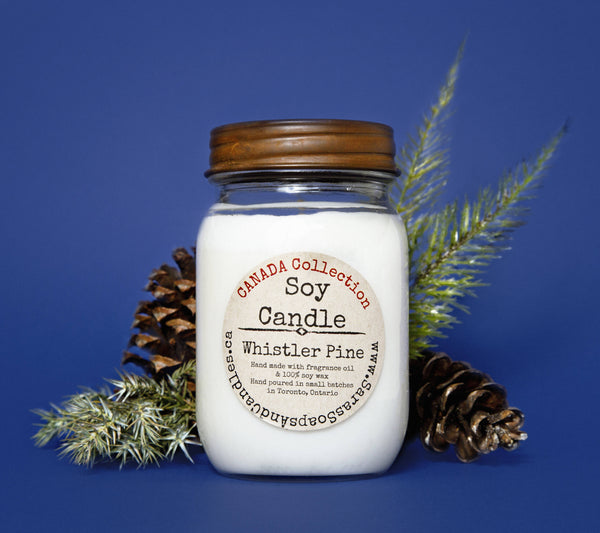 Whistler pine candle - large