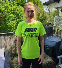 Load image into Gallery viewer, ABP Marathon Yellow training tee