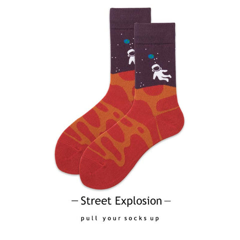 Astronaut Socks For Young Adults