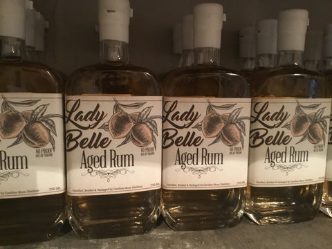 Lady Belle Peach Wood Aged Rum