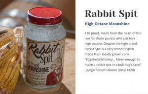 Rabbit Spit Moonshine