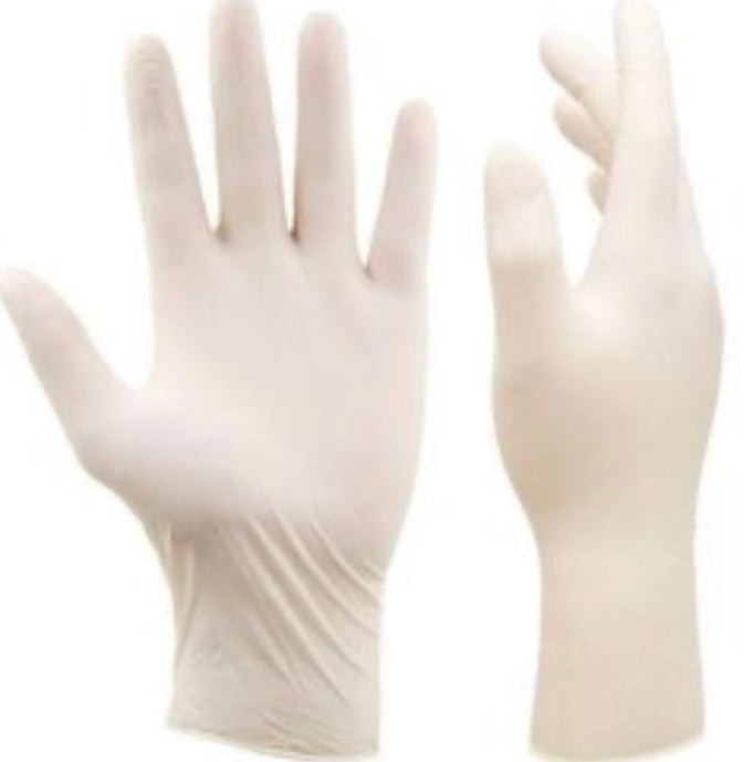 Medical Grade Latex Gloves - Case (1,000 pcs)