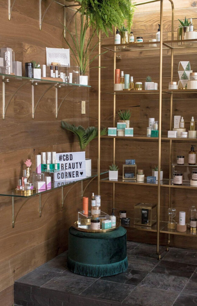 #CBD Beauty Corner launches with The Salon Project