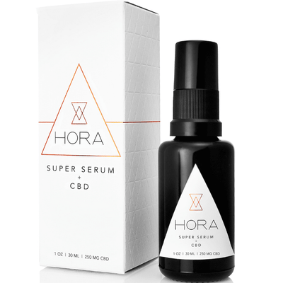 Hora Super Serum 250mg 1 oz - CBD Beauty Corner