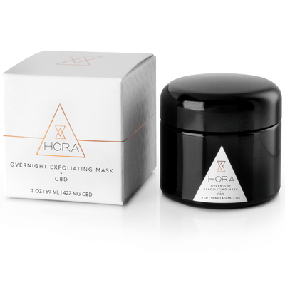Hora Overnight Exfoliating Mask - CBD Beauty Corner