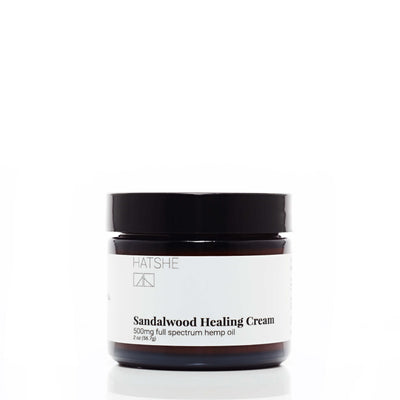 Hatshe Sandalwood Healing Cream - CBD Beauty Corner