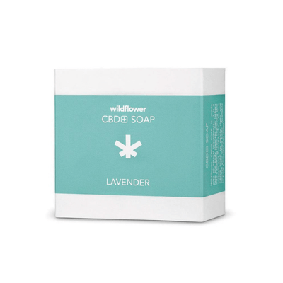 Wildflower Lavender CBD Soap - CBD Beauty Corner