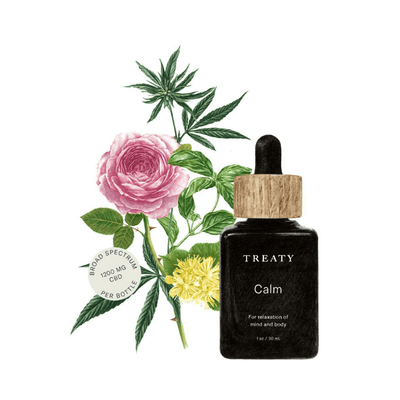 Treaty Tincture Calm - CBD Beauty Corner