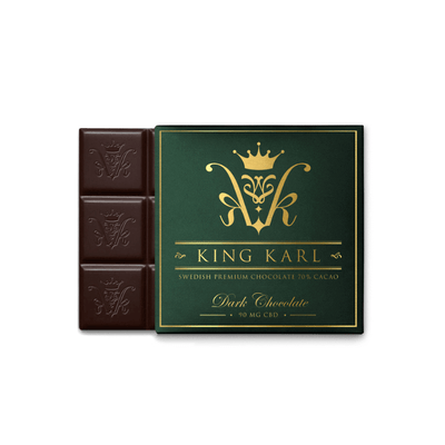 King Karl CBD Dark Chocolate Edible - CBD Beauty Corner