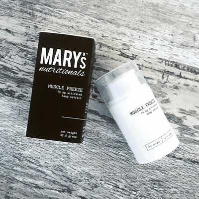 Mary's Nutritionals Muscle Freeze - Travel Size - CBD Beauty Corner