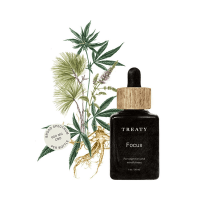 Treaty Tincture Focus - CBD Beauty Corner