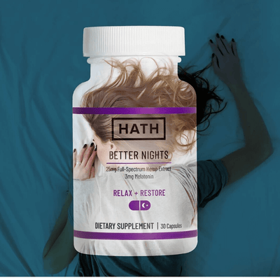 HATH Better Nights Capsules - CBD Beauty Corner