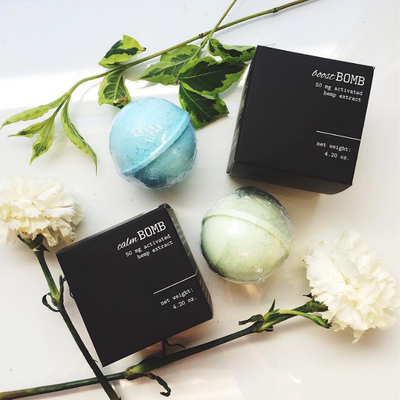 Mary's Nutritionals Calm CBD Bath Bomb - CBD Beauty Corner