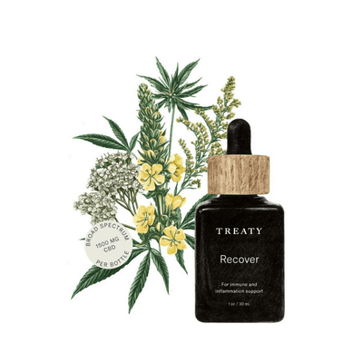 Treaty Tincture Recover - CBD Beauty Corner