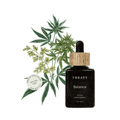 Treaty Balance - CBD Beauty Corner