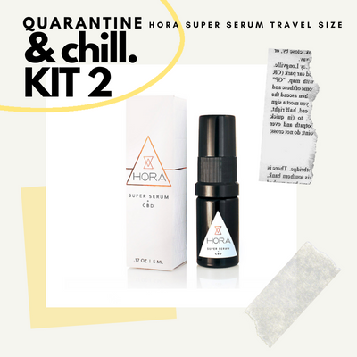QUARANTINE AND CHILL KIT TWO - CBD Beauty Corner