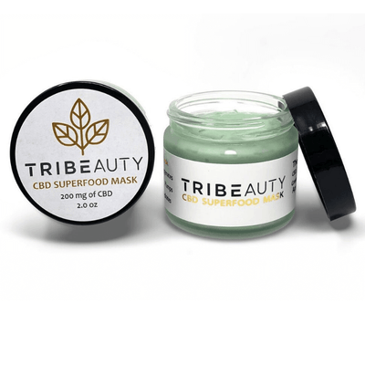 TRIBEauty Superfood Mask - CBD Beauty Corner