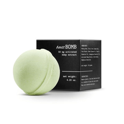 Mary's Nutritionals Boost CBD Bath Bomb - CBD Beauty Corner