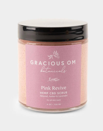 Gracious OM Pink Revive Face & Body Scrub - CBD Beauty Corner