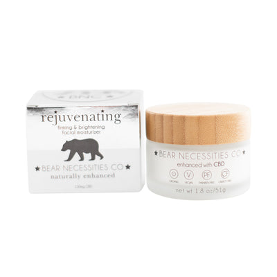 Rejuvenating Firming/Brightening Moisturizer - 150mg - CBD Beauty Corner