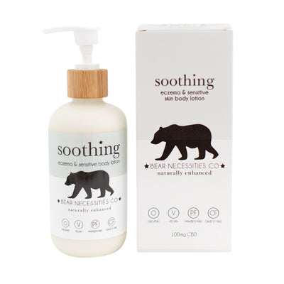 Soothing Eczema Lotion - 100mg - CBD Beauty Corner