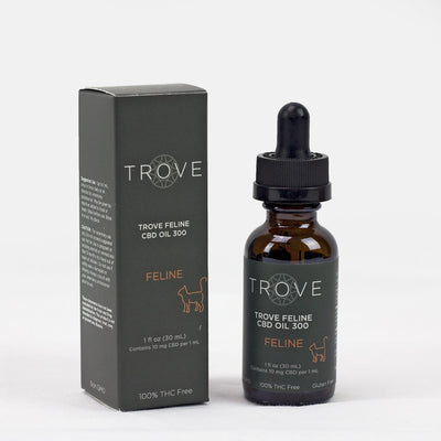 Trove Feline CBD Oil 300mg - CBD Beauty Corner