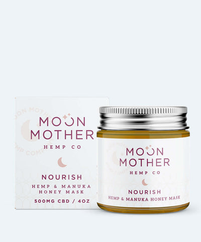 Moon Mother Manuka Honey Mask - CBD Beauty Corner