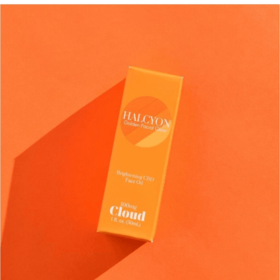 Cloud CBD Halcyon Brightening Face Oil - CBD Beauty Corner