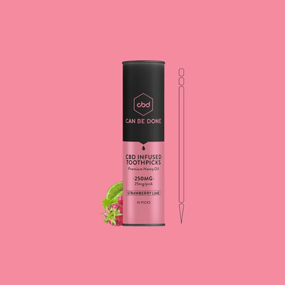 Can Be Done Strawberry Lime Toothpicks - CBD Beauty Corner