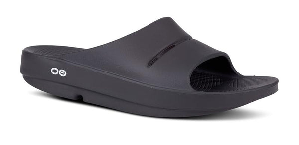 OFOOS OOHA SLIDE - Mens 11 /Ladies 13 (Black)