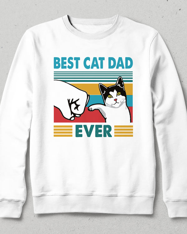 Best Cat Dad sweatshirt