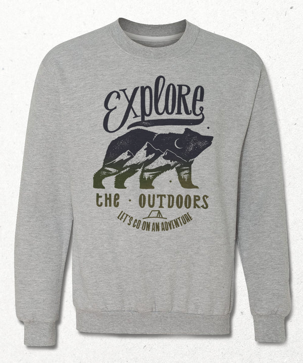 The outdoors sweatshirt - basmatik.com